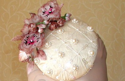Cream Fascinator Annabell