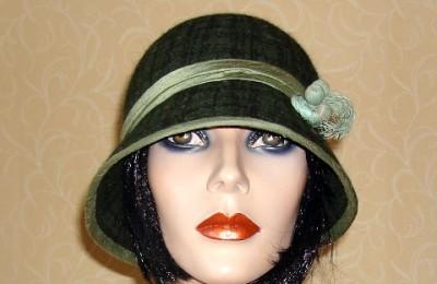 Wool Cloche Hat Gwyneth