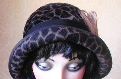 Animal pattern hat