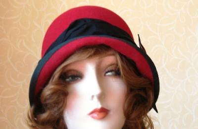 Red Felt Hat Millicent