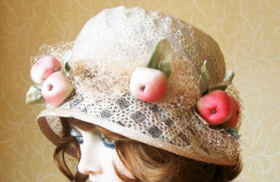 Apple Straw Hat