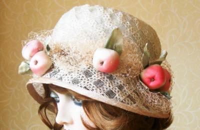 Apple Straw Hat